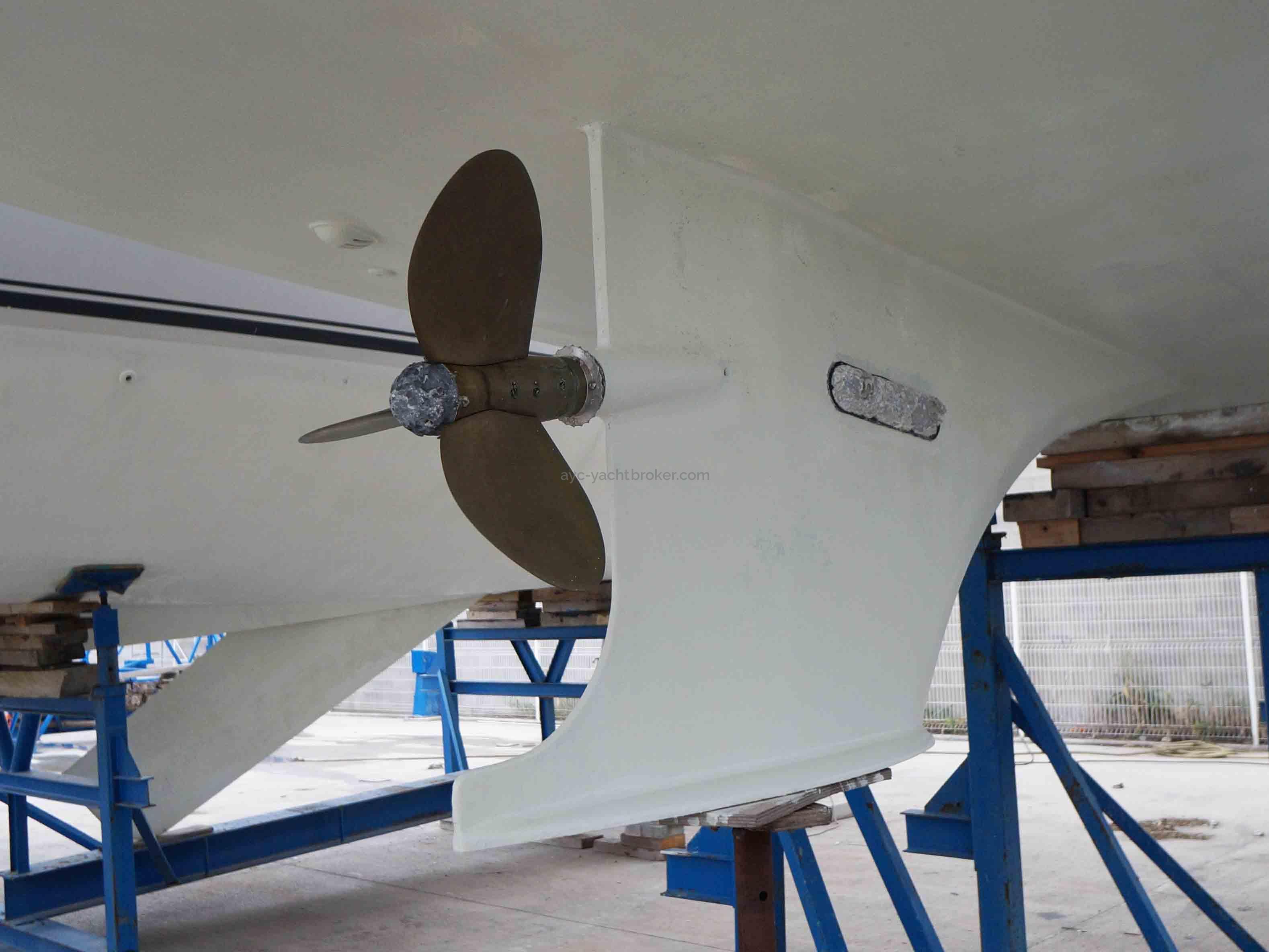 AYC Yachtbroker - Hélice