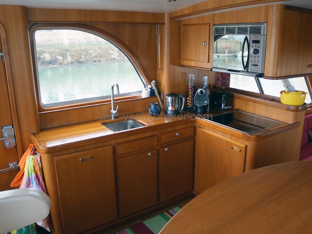 Searocco 1500 Trawler - Cuisine
