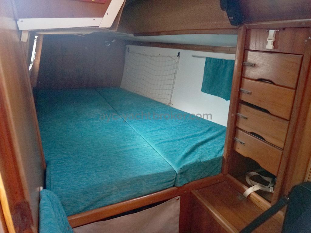 Carambola 38 - Cabine arrière bâbord