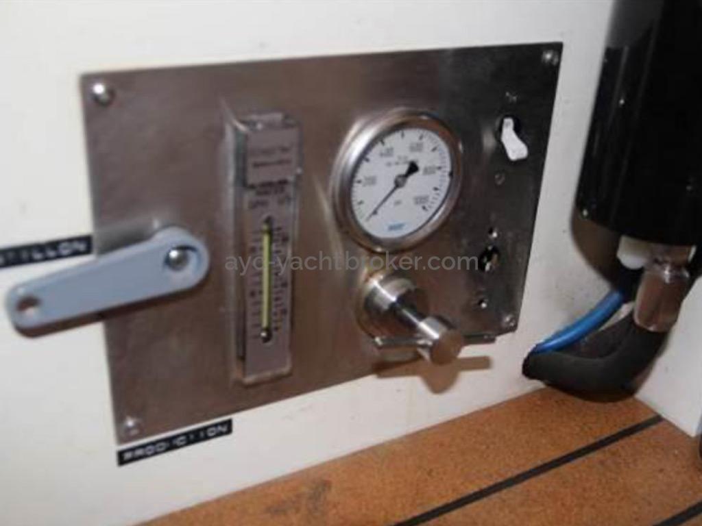 META JPB 35 - Panneau de contrôle du dessalinisateur