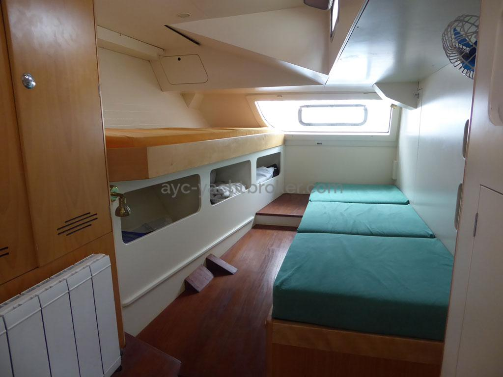 AYC - Azzuro 53 / Cabine arrière tribord
