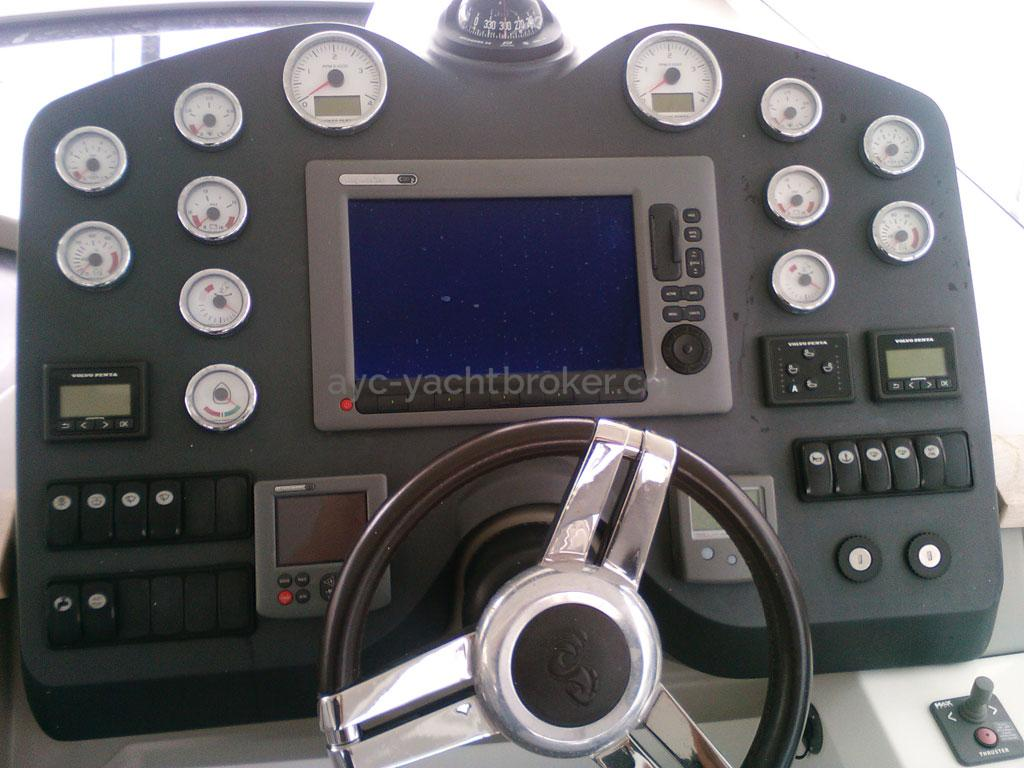 AYC - FLYER GT 44 / Poste de barre