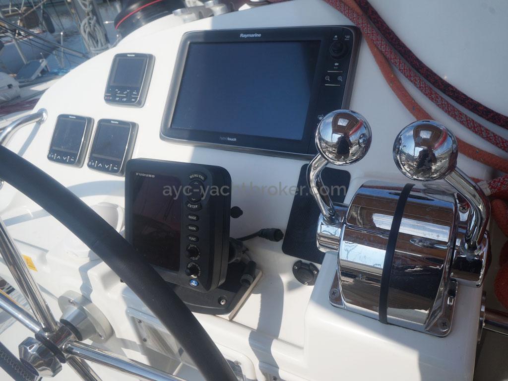 AYC - Lagoon 400 / Poste de barre