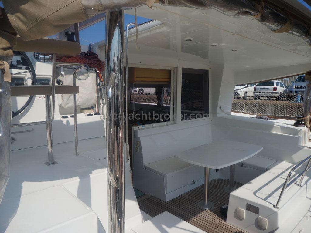AYC - Lagoon 400 / Cockpit