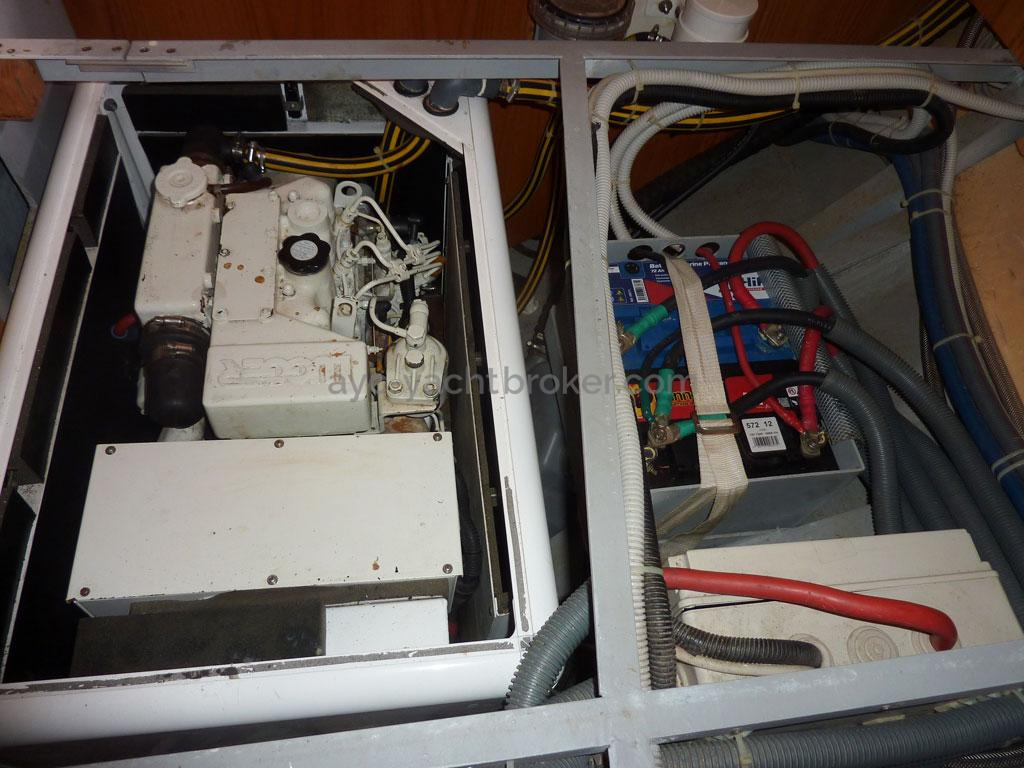 AYC - Ovni 435 / Groupe électrogène et batteries