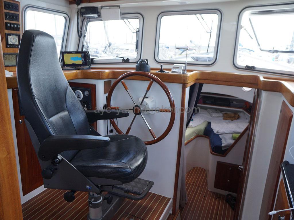 AYC - Trawler fifty 38 / Poste de barre