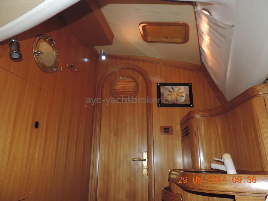 Entrée de la cabine arrière tribord