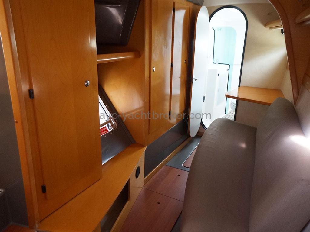 AYC - Lavezzi 40 / Coque propriétaire tribord
