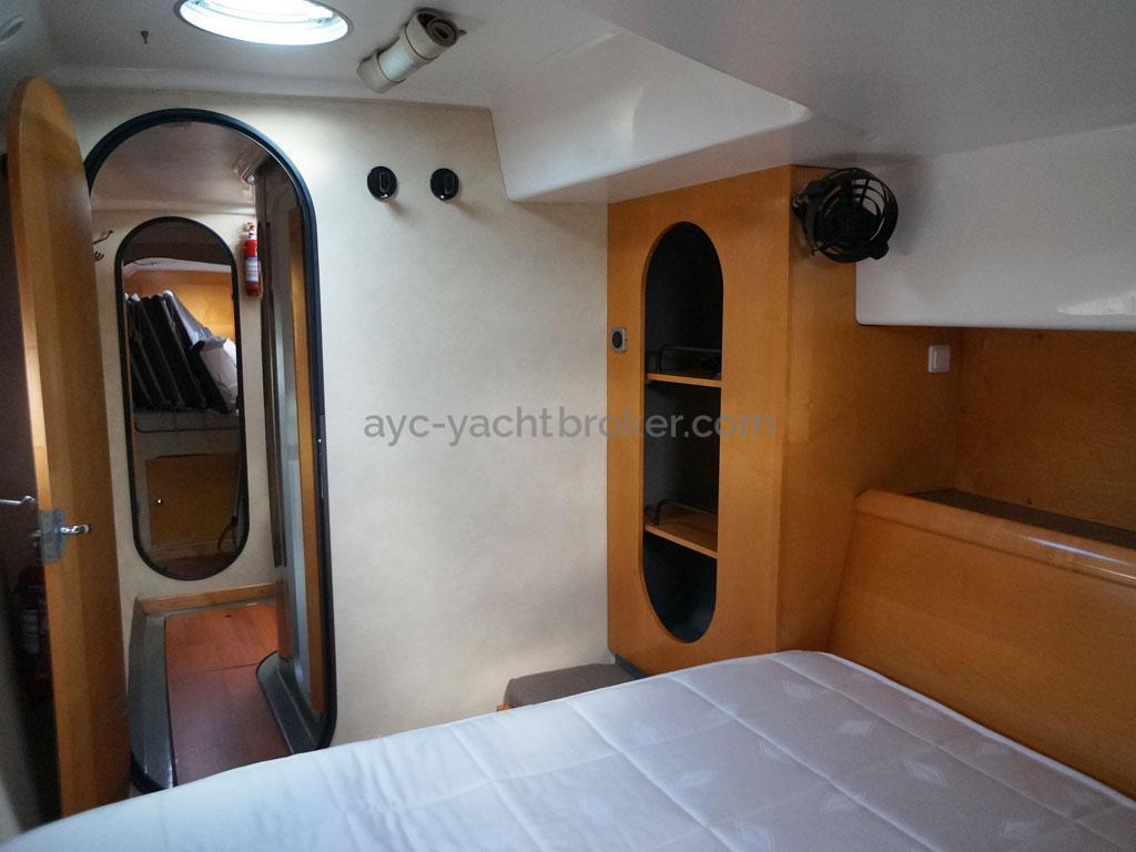 AYC - Lavezzi 40 / Cabine arrière corque babord