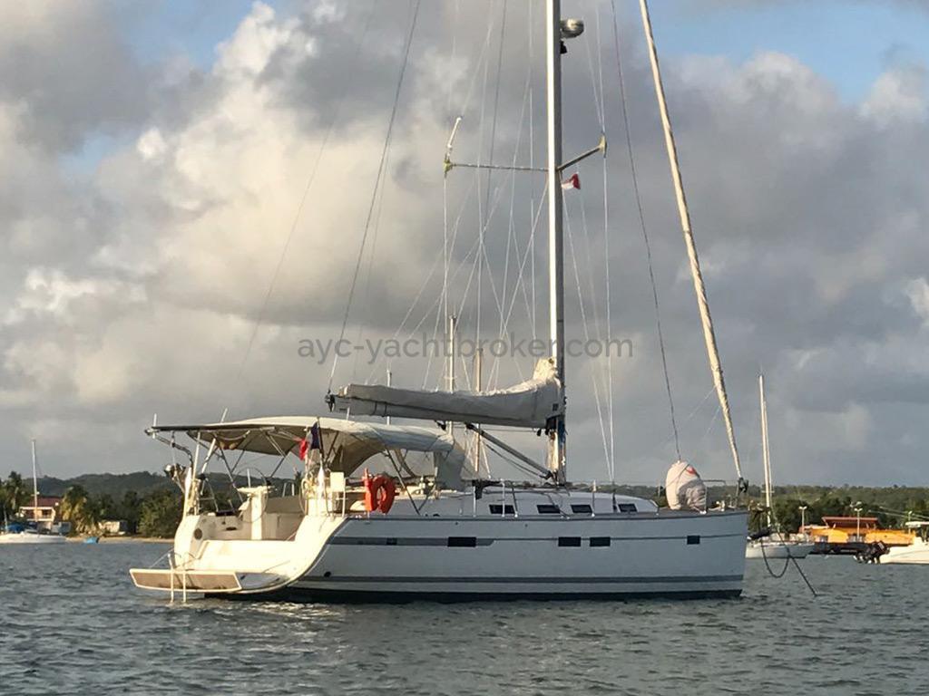 Bavaria 45 Cruiser - Au mouillage