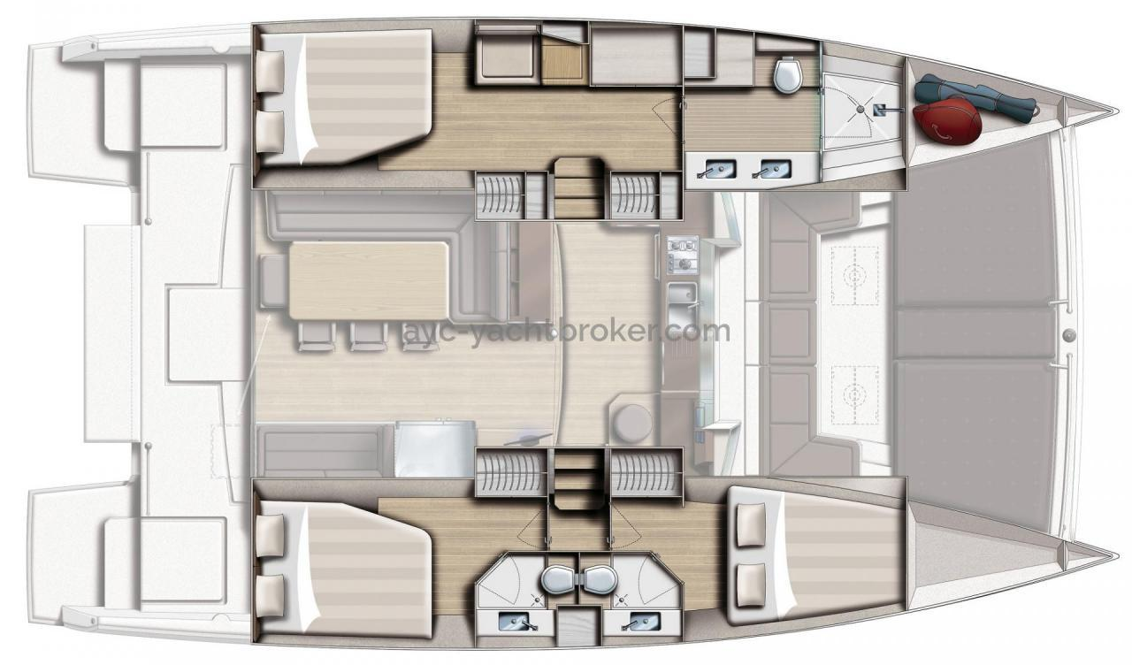 AYC - BALI 4.5 Amenagement