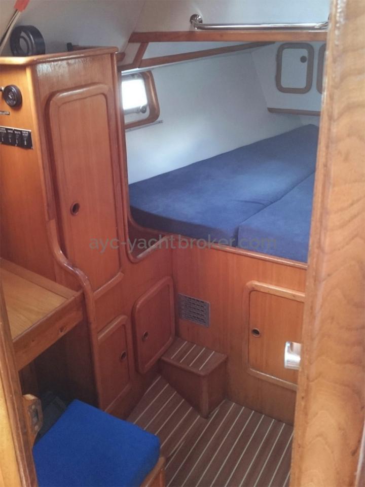Alumarine 55 - Cabine arrière tribord