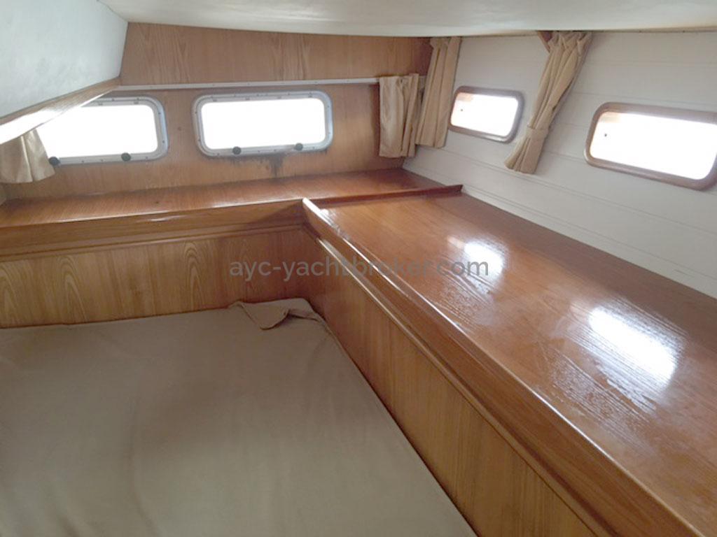Cigale 16 - Cabine arrière bâbord