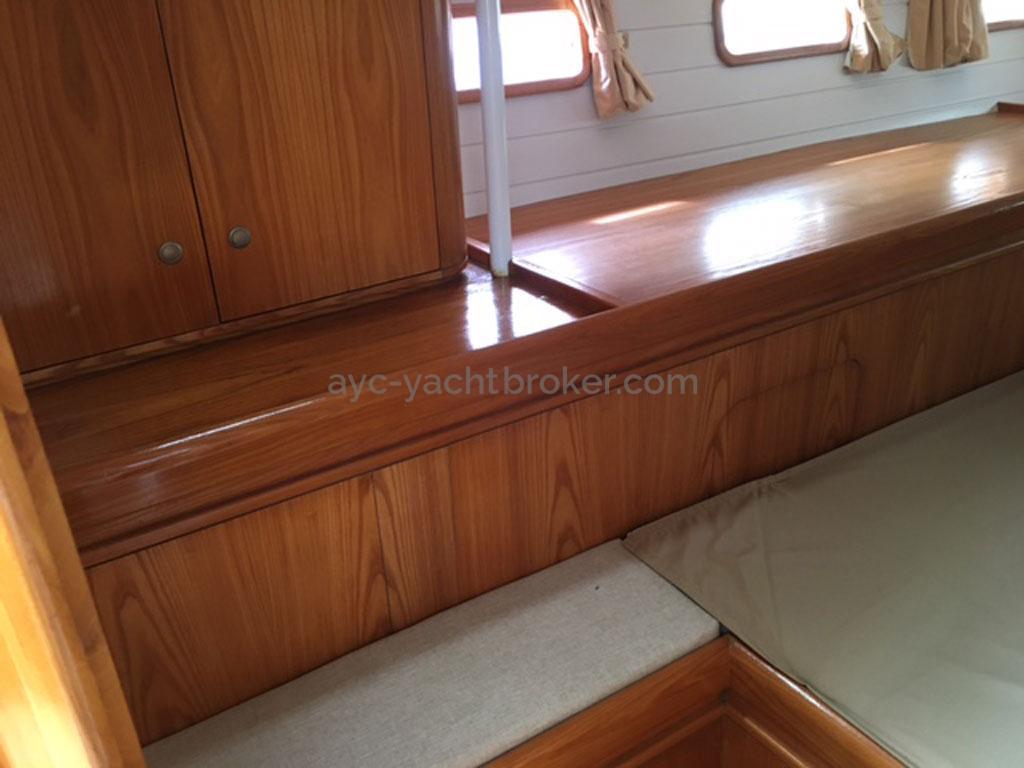 Cigale 16 - Cabine arrière tribord