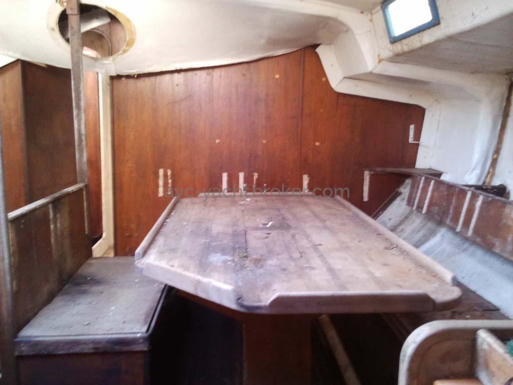 Carré côté tribord (à ce jour)