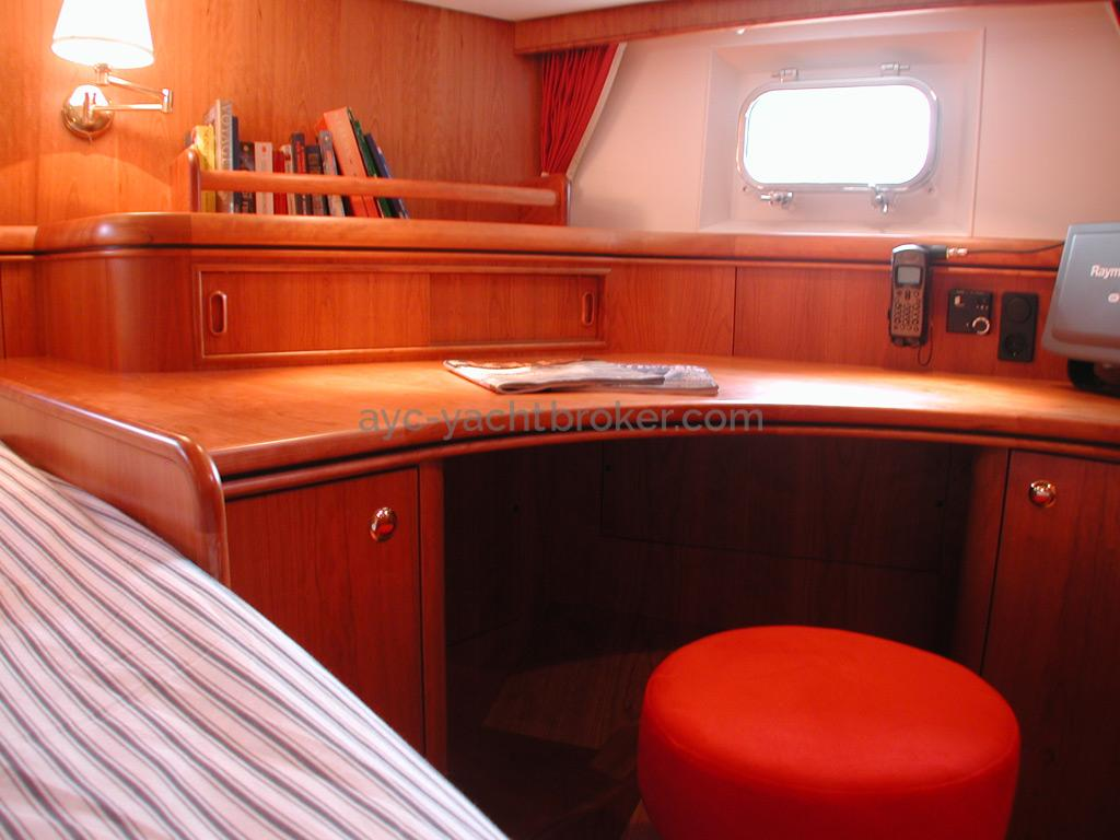 Nordia 65 - Bureau de la cabine arrière propriétaire