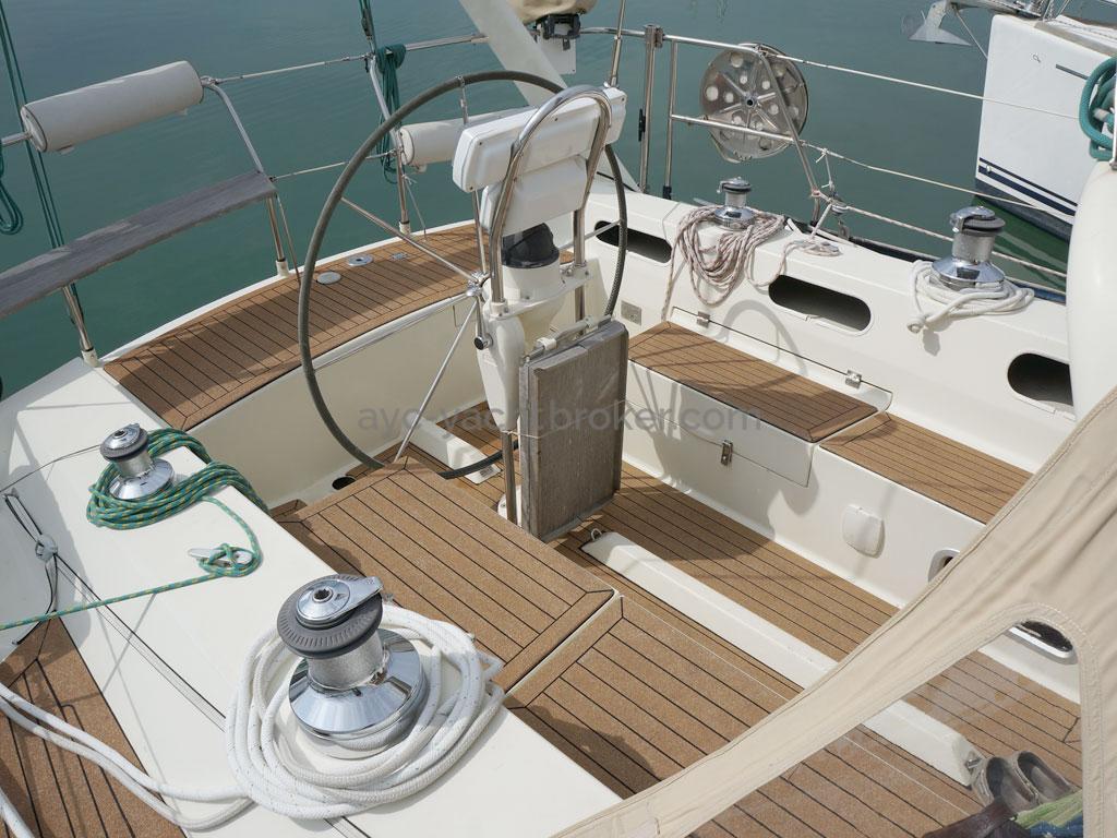 Alliage 44 - Cockpit