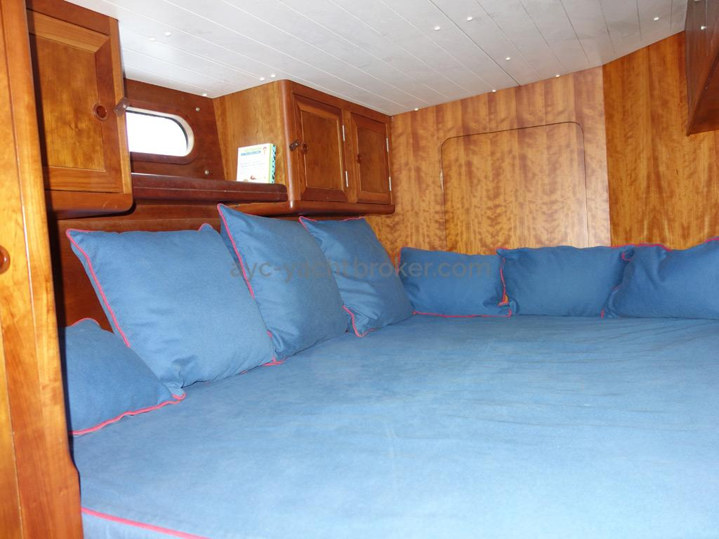 Universal Yachting 49.9 - Cabine arrière tribord