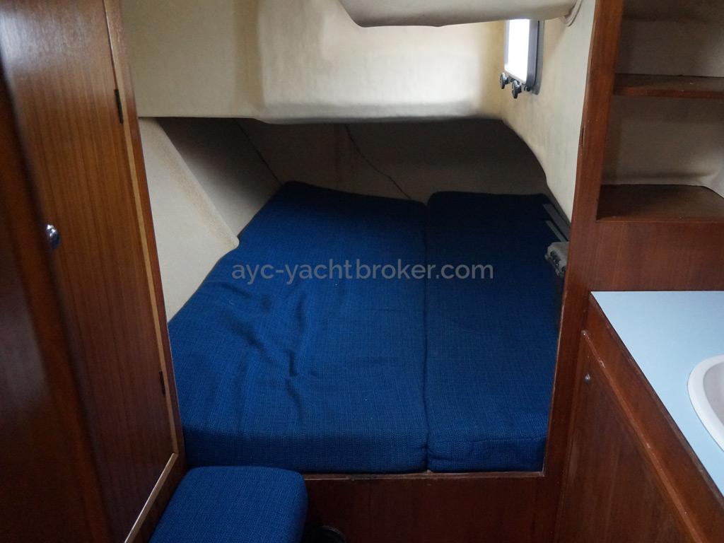 Shark 50 - Cabine arrière tribord