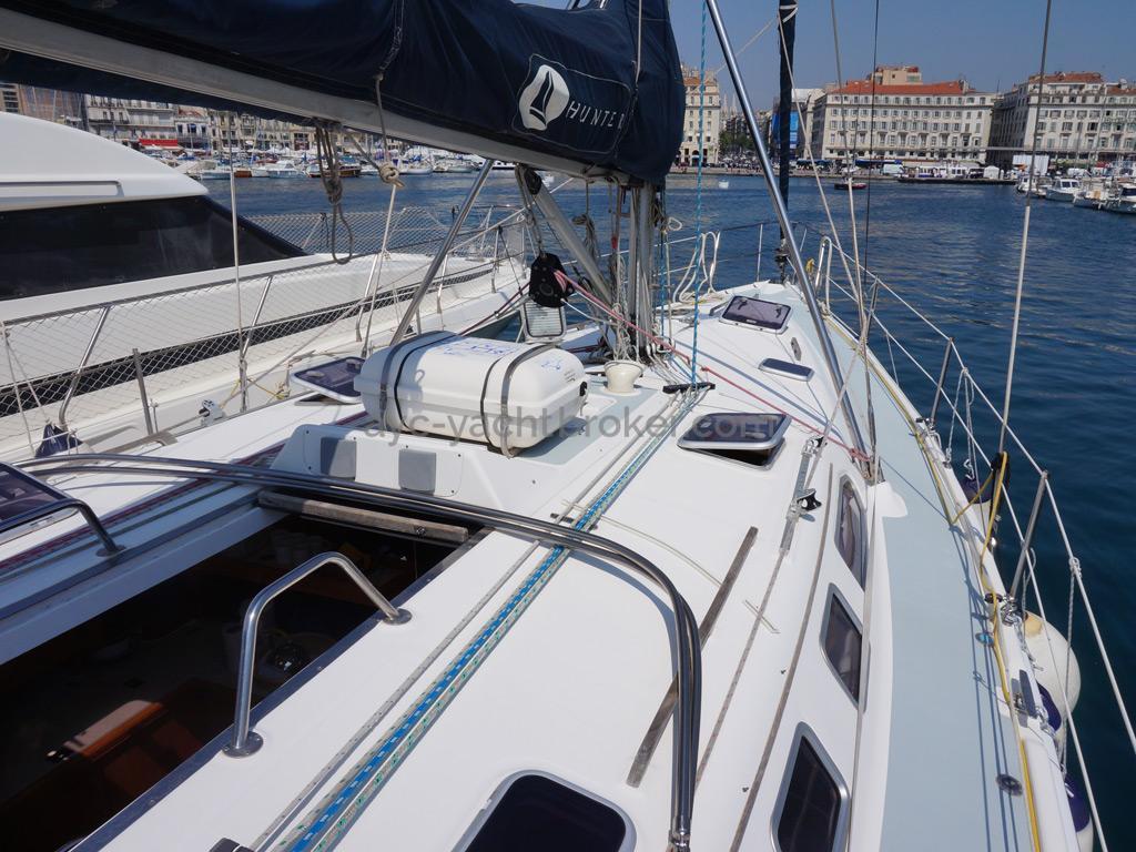 Hunter 466 - Passavant tribord
