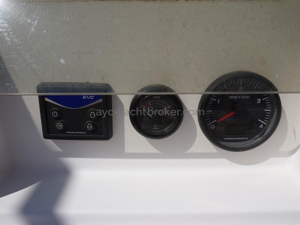 Feeling 44 Di - Panneau de contrôle moteur