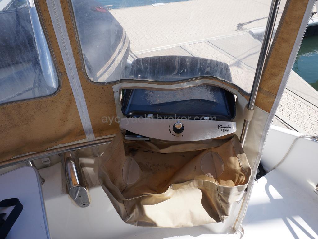 Highland 35 - Plancha dans le cockpit