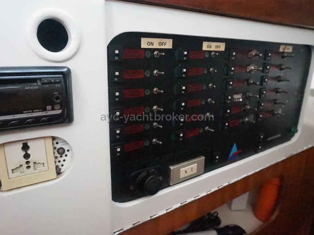 Catana 42 - Tableau électrique