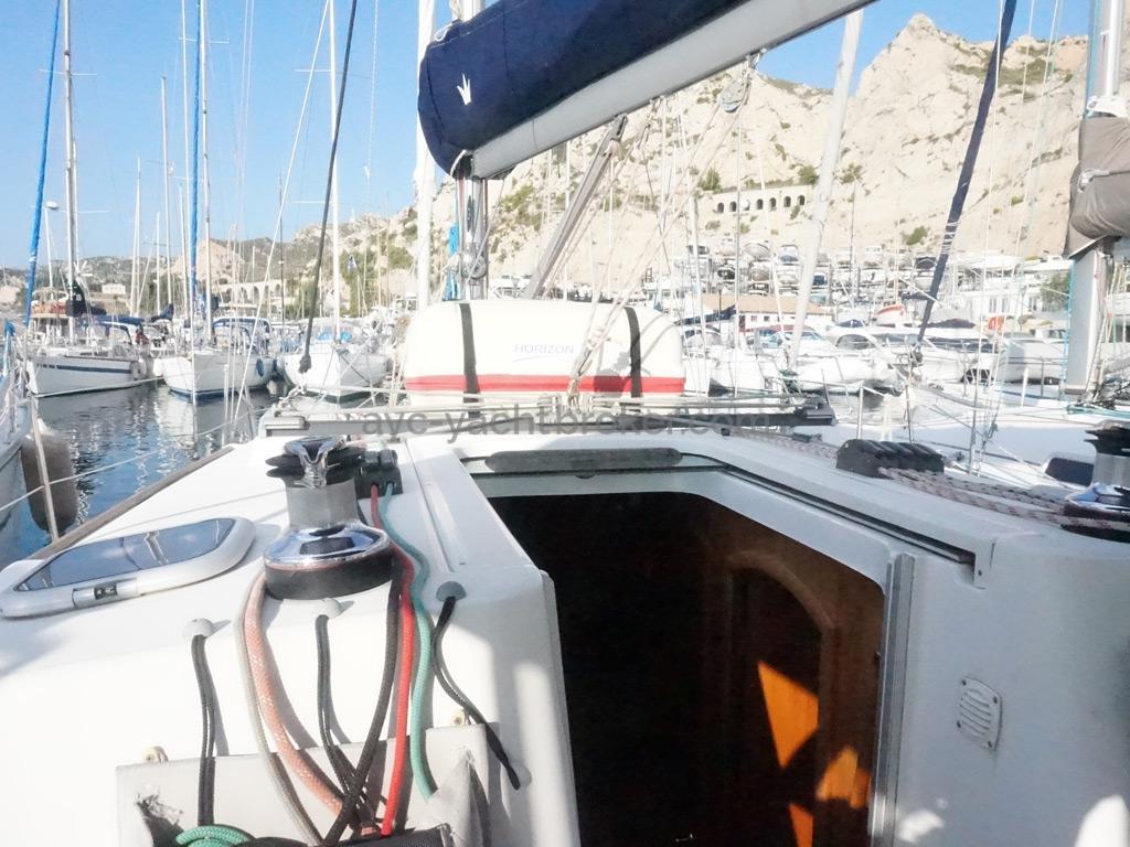 Oceanis 343 Clipper - Rouf et descente
