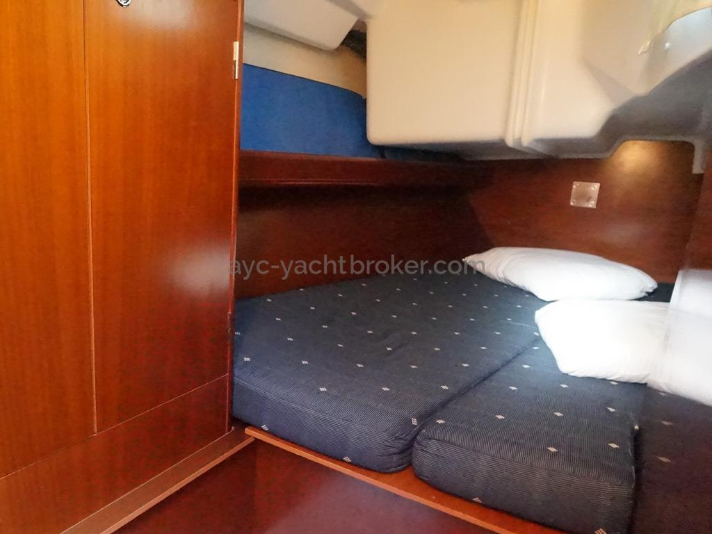Oceanis 343 Clipper - Cabine arrière tribord