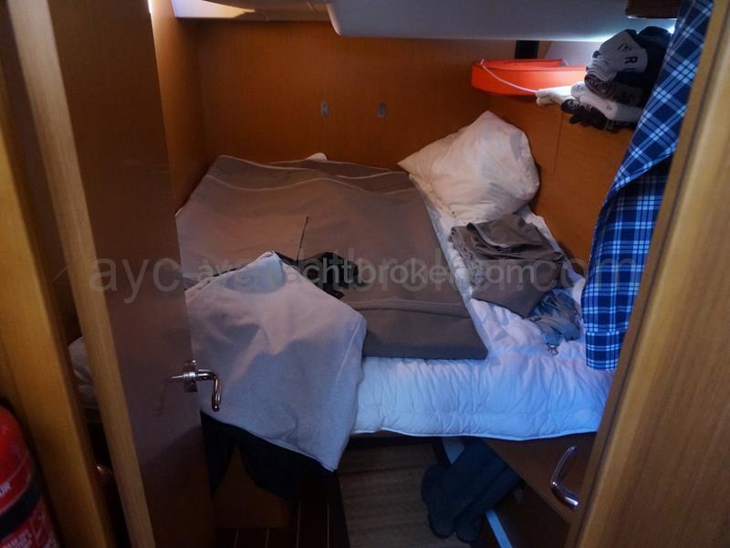 Jeanneau 53 - Cabine arrière bâbord