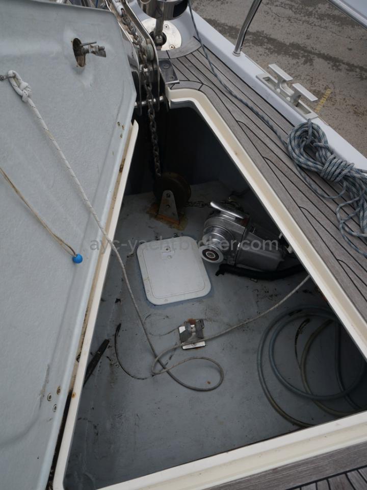 Hanse 531 - Baille à mouillage
