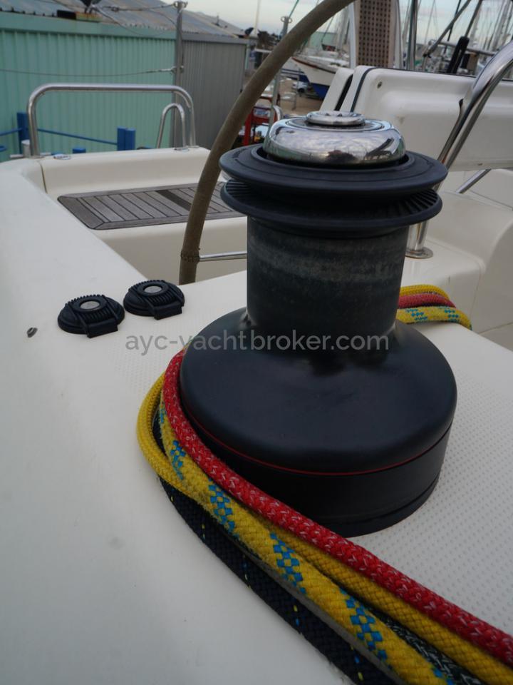 Hanse 531 - Winch électrique tribord