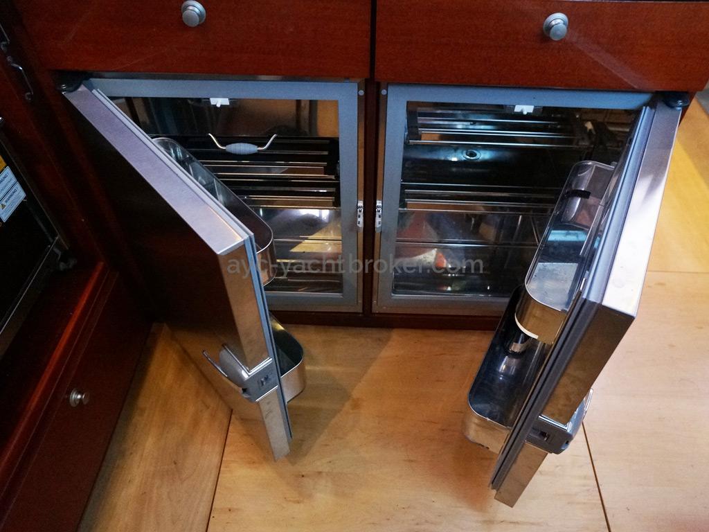 Hanse 531 - Réfrigérateurs inox