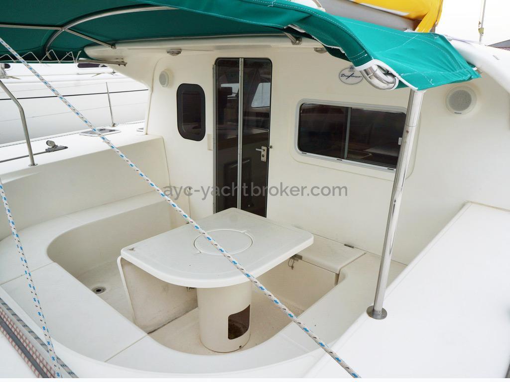 Nautitech 435 - Cockpit