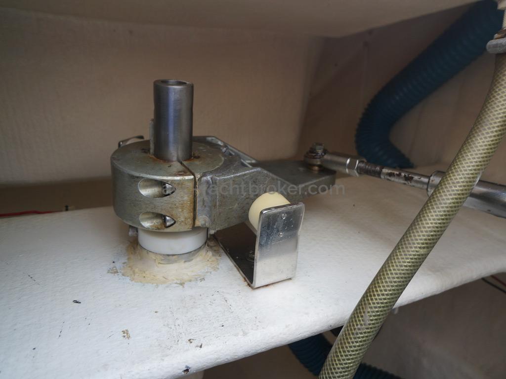 Nautitech 435 - Mêche de safran