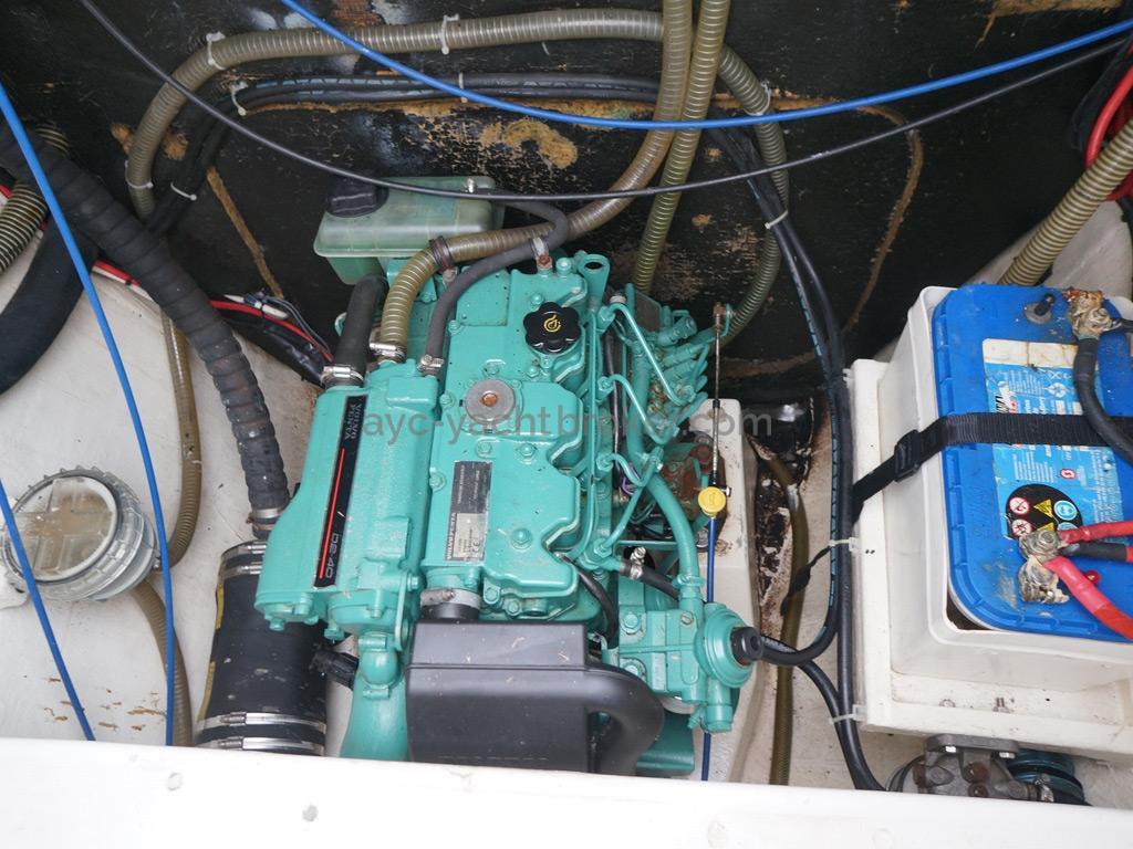Nautitech 435 - Cale moteur bâbord