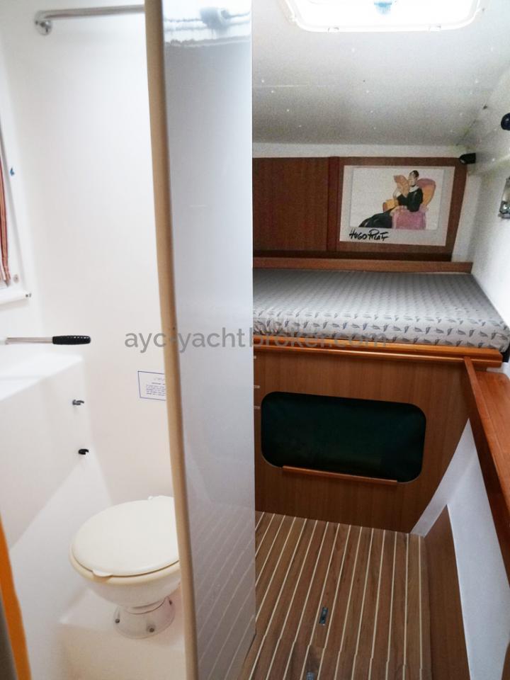 Nautitech 435 - Cabine arrière bâbord