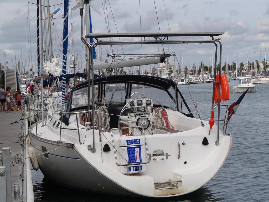 Oceanis 351 - Tableau arrière