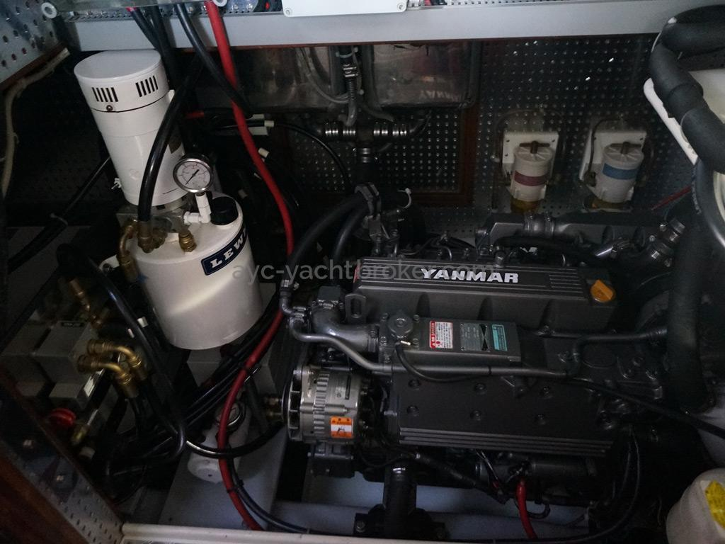 Tayana 58 - Moteur Yanmar