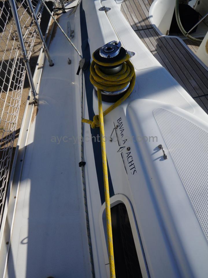 Bavaria 38 - Winch de cockpit tribord