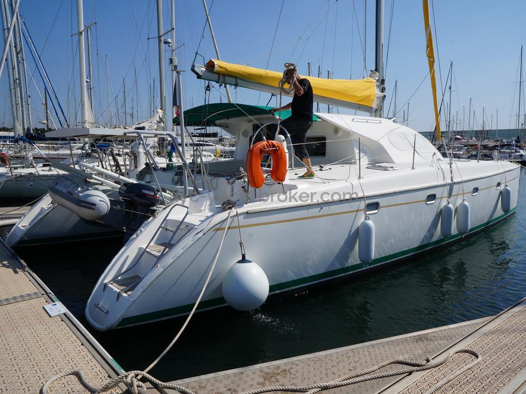 Nautitech 435 -  Au ponton