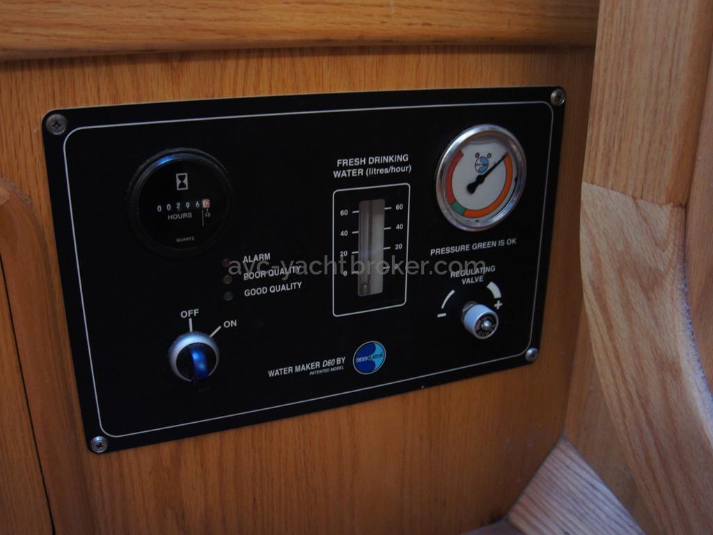 Panneau de commande du Dessalator D60 12V