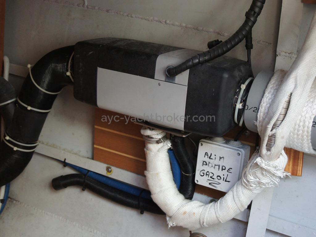 Chauffage diesel à air pulsé Webasto