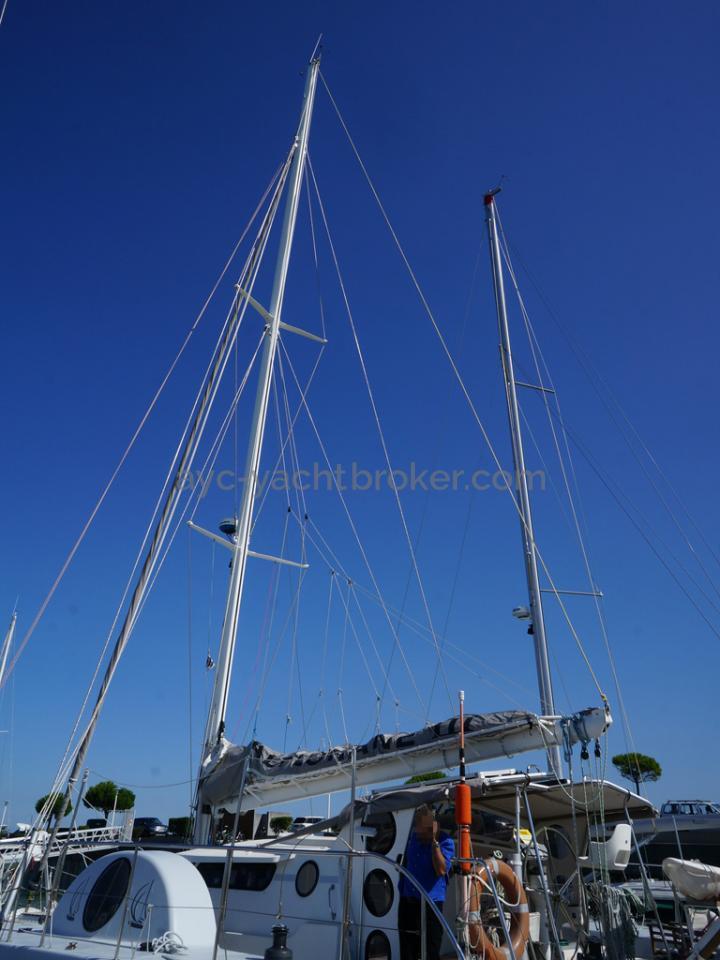 Catamaran 51' - Mâture