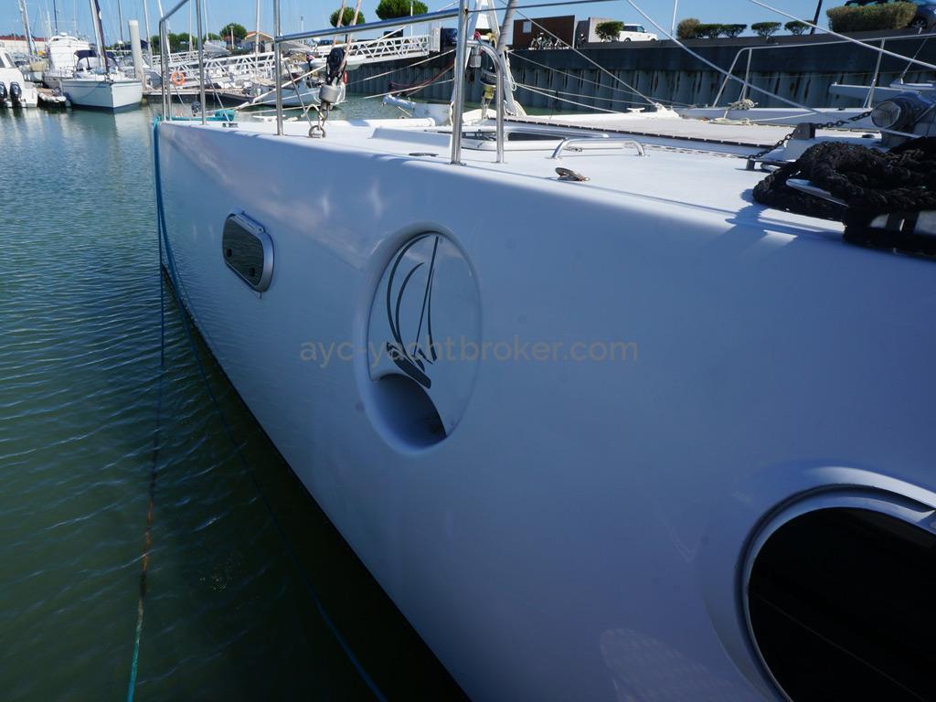 Catamaran 51' - Détail coque