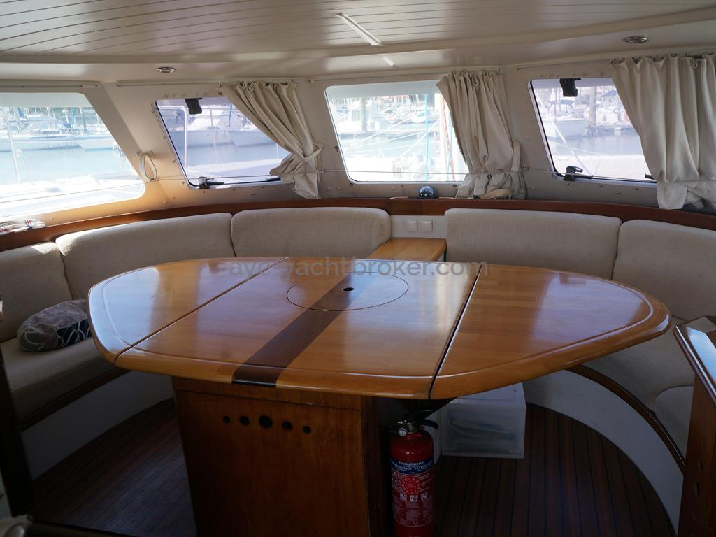 Catamaran 51' - Carré