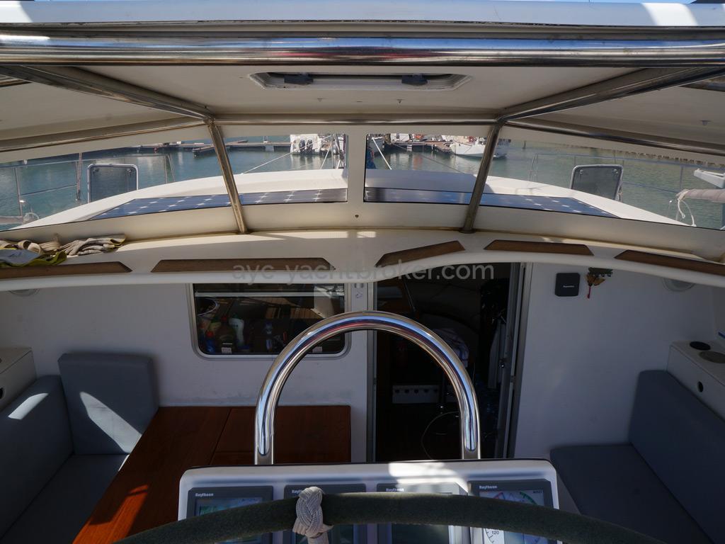 Catamaran 51' - Parebrise
