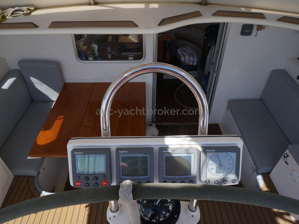 Catamaran 51' - Cockpit et instruments