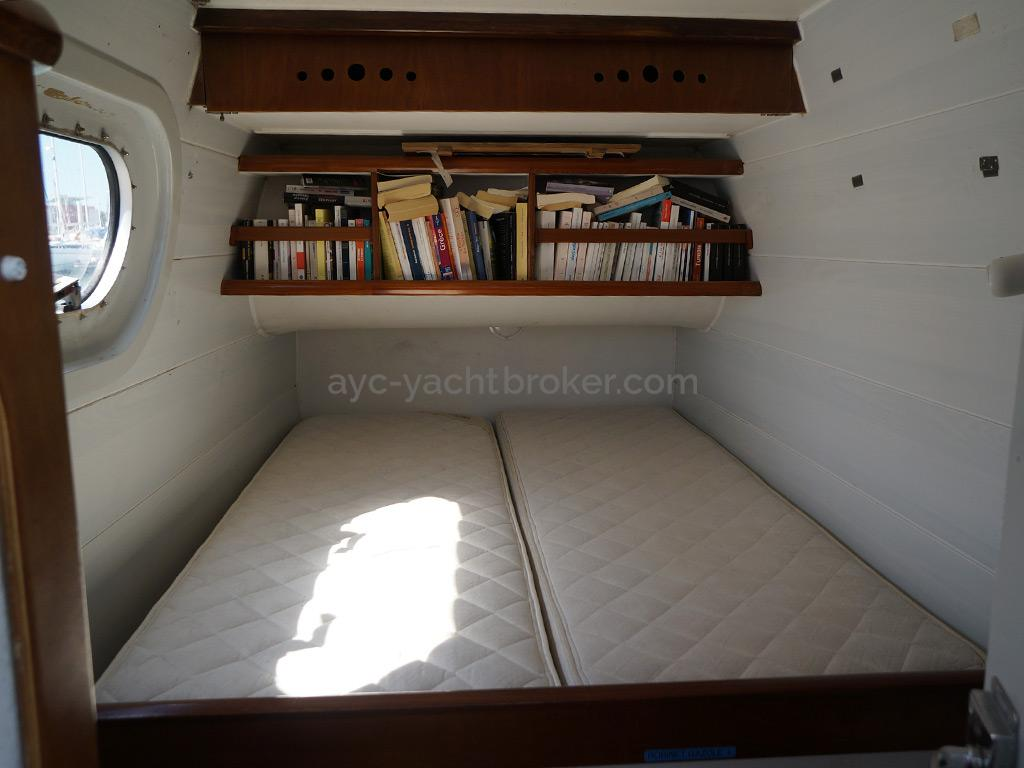 Catamaran 51' - Couchette double Babord