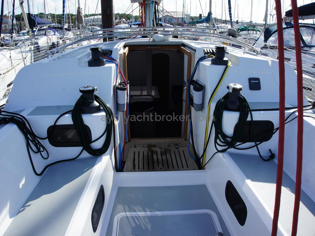 RM 1260 Biquilles / Twinkeels - Cockpit et descente